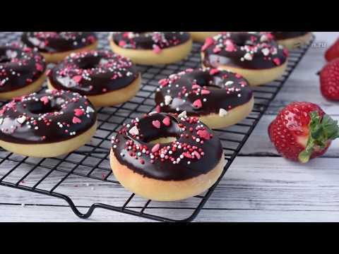 """Пончики """"Донатс"""" в духовке. Рецепт вкусных пончиков!"""