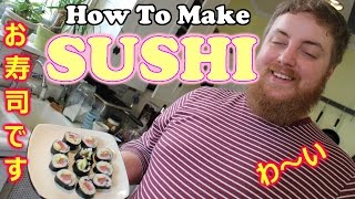 How To Make Sushi (seaweed Burritos)