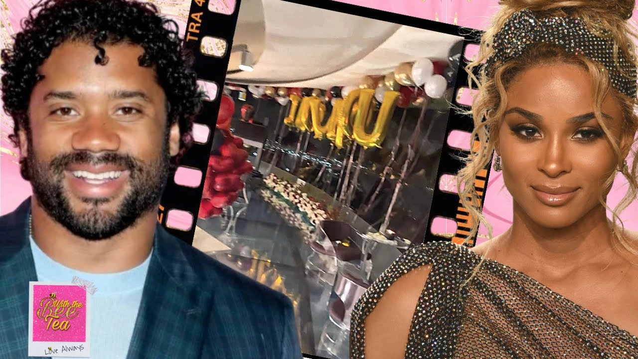 Russell Wilson celebrates & goes all out for Ciara's 36th Birthday!