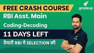 RBI Assistant 2020 Coding-Decoding Strategy to Score 35+ in Reasoning