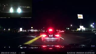 Tesla Model S Forward Collision Warning Saves the Day