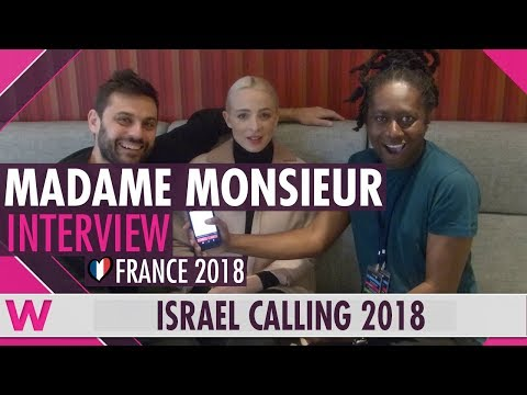 Madame Monsieur (France 2018) Interview | Israel Calling 2018
