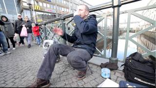 Dave Crowe, Beatboxing In Gothenburg 2