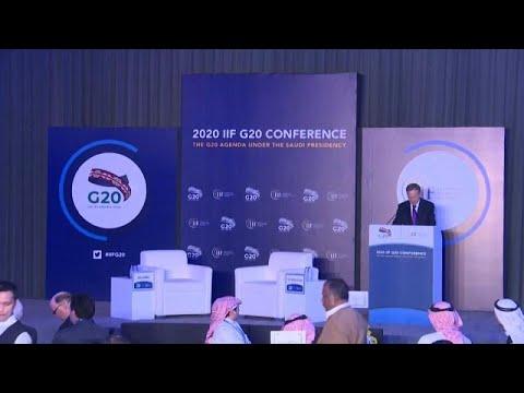 اجتماع القادة الماليين لمجموعة 20 في الرياض وسط قلق من تداعيات فيروس كوفيد19 على الاقتصاد العالمي…  - 10:59-2020 / 2 / 22