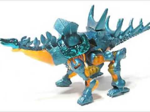 Mutant transformer dinosaurs stegosaurus cousins youtube - Dinosaure transformers ...