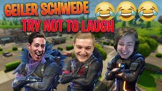 😂🇸🇪 ALTER SCHWEDE IST DER GEIL!   Unmöglich bei diesem Squad nicht zu lachen!    Fortnite Deutsch thumbnail