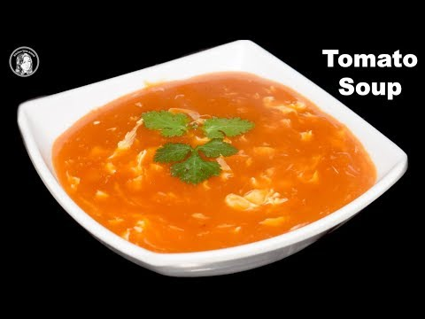 Egg Tomato Soup Recipe – Tomato Soup – Soup Recipes – Kitchen With Amna