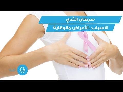 استشارات طبية: أسباب سرطان الثدي وأعراضه وسبل الوقاية منه