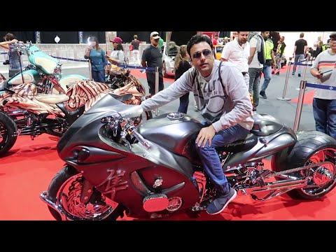 Dubai Motorbike Festival 2018 🏍 | Extreme Sports Expo 🔥 | International Bicycle Exhibition 🚴