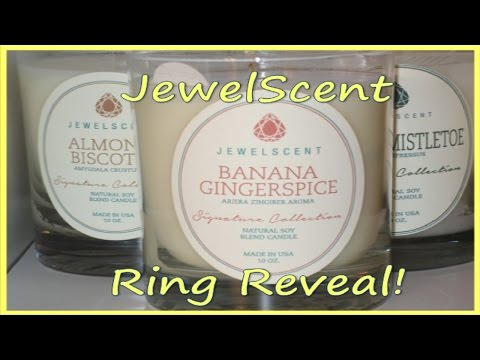 JewelScent Ring Reveal - Banana Gingerspice!