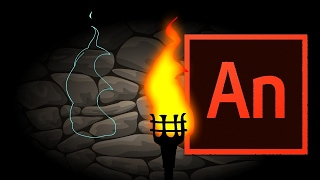 How to Animate a Fire Effect in Adobe Animate Video Tutorial
