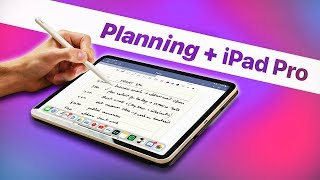 Planning My Day with iPad Pro (2019) | iPadOS