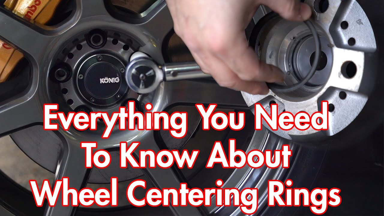 Why You Need Wheel Centering Rings x Hub-Centric Rings Explained With König Wheels