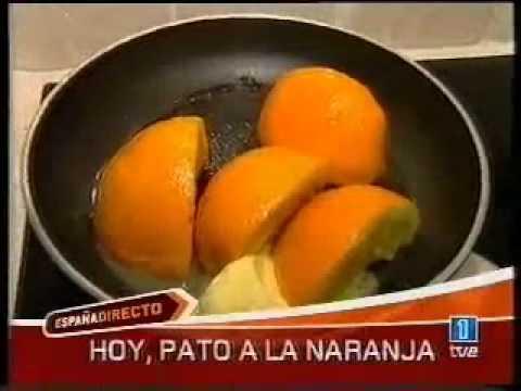 Magret de pato a la naranja youtube for Pato a la naranja