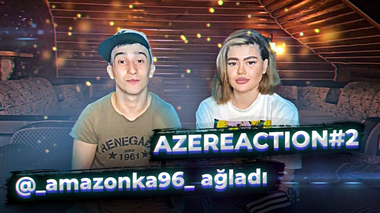 Azreaction#2. Russia blogerin Azərbaycan mahnısına reaskiası. Duman blogeri ağladtı. Kənan Babazadə.