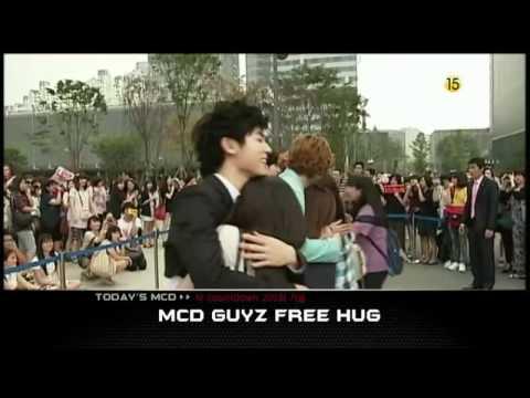 100715 CNBLUE (Kang Min Hyuk]) + 2Am + 2Pm + MBLAQ - Free Hug