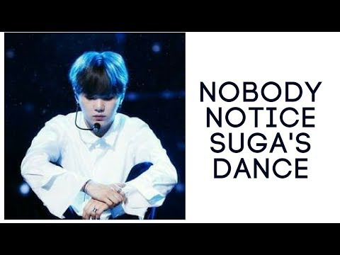 (UNBELIEVABLE) Nobody Notice BTS Suga Beautiful Dancing