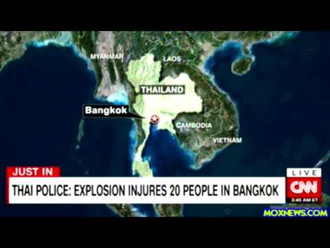 Thailand Police Reporting Explosion Has Injured 20 People In Bangkok