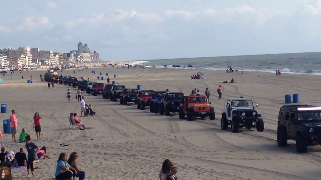 Ocean City Jeep Week >> Ocean City Maryland Jeep Week Beach Crawl Ocmd