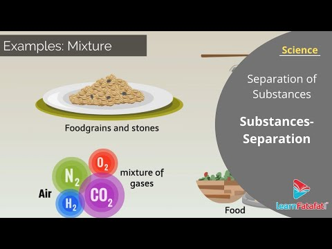 Separation of Substances Class 6 Science Chapter 5
