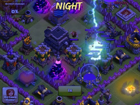 How to active Night mode in clash of clans samsun