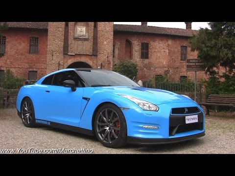 Wrapping my Nissan GT-R BABY BLUE!