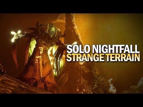 Solo Nightfall Strange Terrain (248,919 Points) [Destiny 2 Black Armory]