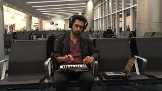 I got bored at the airport so I made a beat out of it