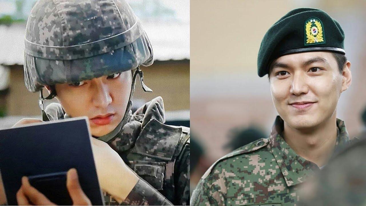 10 Potret Mempesona Lee Min Ho Saat Wamil yang Gagah Banget