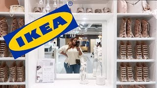 Come Shopping With Me To IKEA + Getting My Dream Display Unit | Edee Beau
