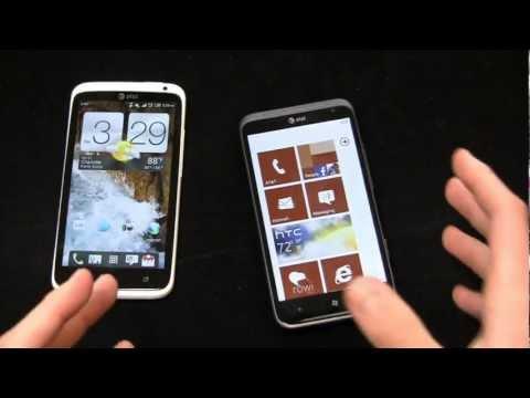 HTC One X vs. HTC Titan II Dogfight Part 1