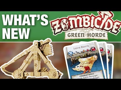 What's New In Zombicide Green Horde