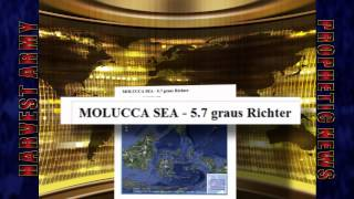 Strong 5.7 EARTHQUAKE Struck MOLUCCA SEA, Indonesia; April 23,2012. Prediction.
