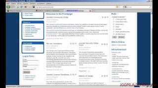 Настройка карты сайта XMAP на Joomla 1.5 - часть2