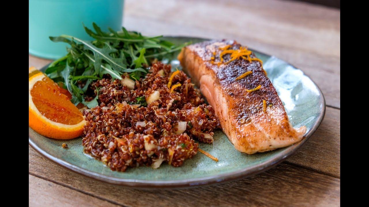 De Gezonde Goesting - Zalm met quinoa