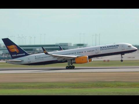 Icelandair Boeing 757-200 Takeoff from YVR
