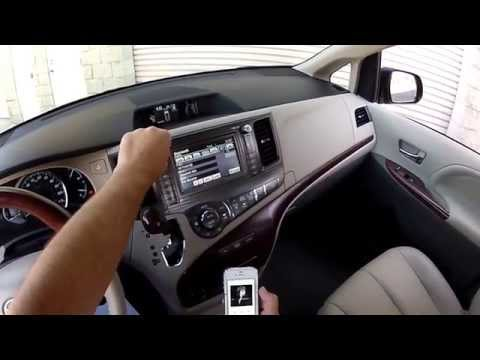 Front Systems Features 2011 Toyota Sienna Limited Advanced Technology