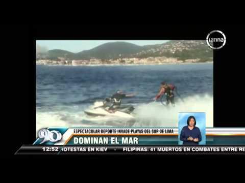 Flyboard: Conoce el deporte acuático que invade el sur de Lima