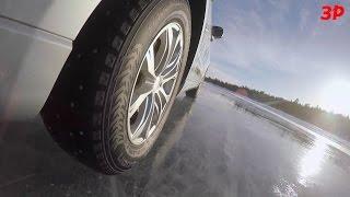 Как тестируют шины Nokian(В то время как в Москве уже чуть не начала пробиваться первая весенняя травка на газонах, нашей съемочной..., 2015-04-06T15:59:47.000Z)