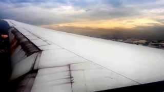 Emirates Airlines Flight 335 Boeing 777 Landing at Ninoy Aquino International Airport