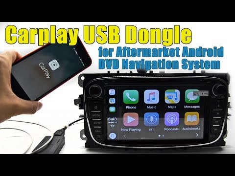 Carplay USB dongle for Android DVD navigation system