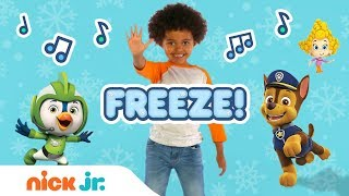 Freeze Dance Along W PAW Patrol Bubble Guppies Top Wing Butterbeans More Nick Jr