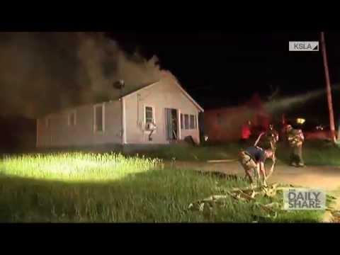 House backdraft caught on camera streaming vf