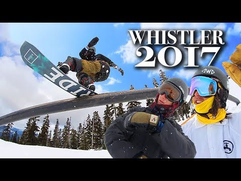 WHISTLER SNOWBOARDING 2017