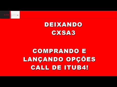 CXSE3 ITUB4 OPÇÕES - TUDO QUE PRECISA SABER