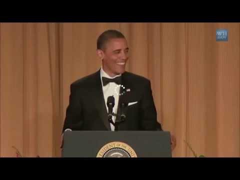 Obama tells RACIST JOKE! OMG!!!