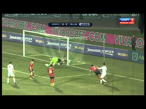 No 135. ARMENIA Vs RUSSIA 0-0 (26/03/2011) HD