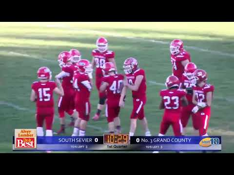 2A Football: South Sevier at Grand County High School 2018 UHSAA State Tournament Quarterfinals