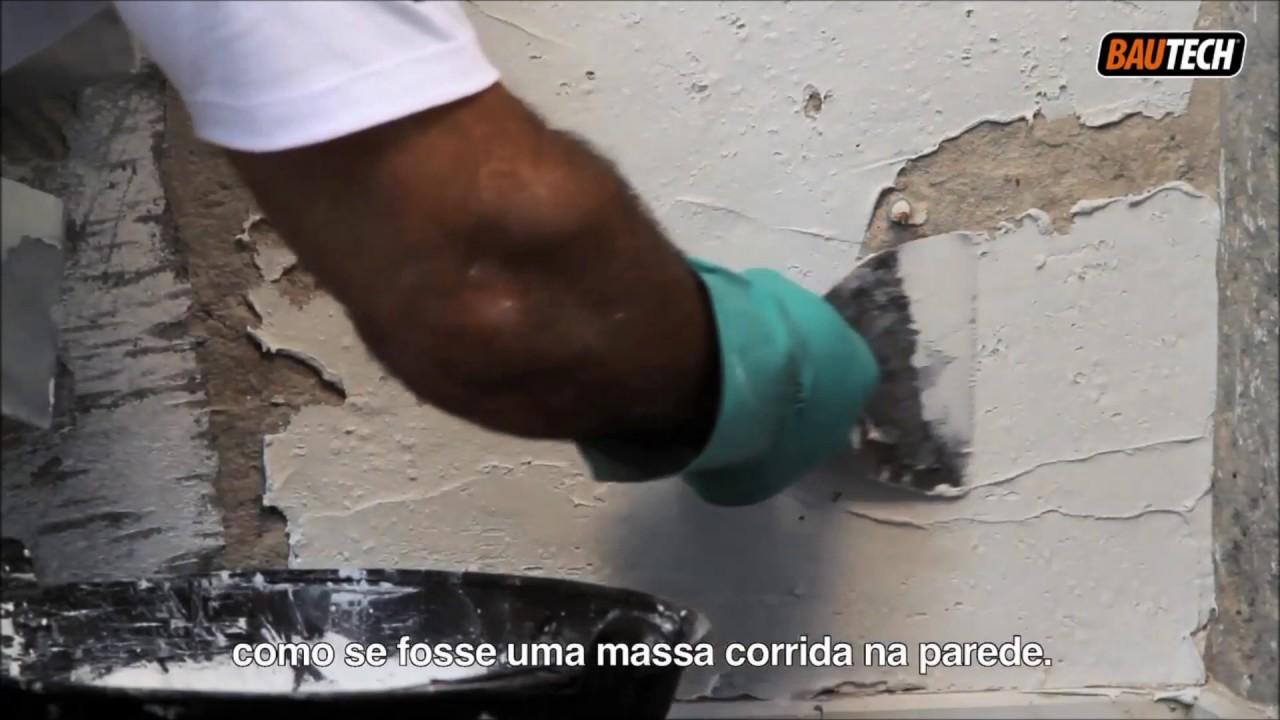 Bautech impermeabilizante para parede rodap youtube - Impermeabilizante para paredes ...