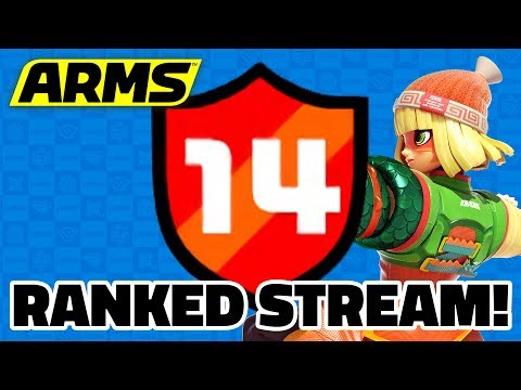 ARMS —  Race to the Top! Finale: Rank 15 With Motion Controls!  [Part 10]